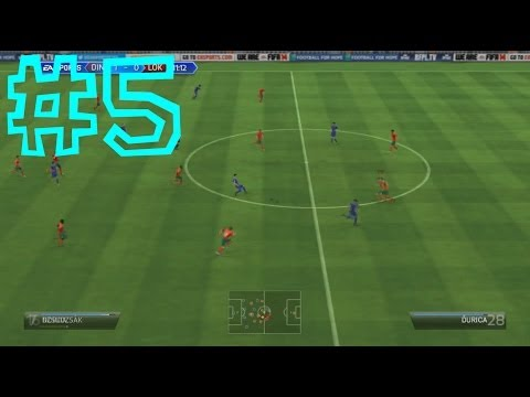 FIFA 14 Career Mode Lokomotiv - Episode 005 - Vs Dynamo Moscow (Russian League)