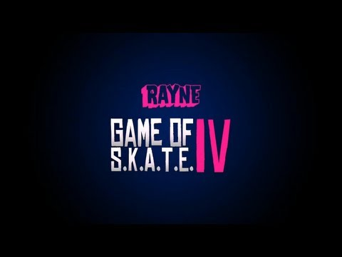 Rayne Game of S.K.A.T.E IV - Winners