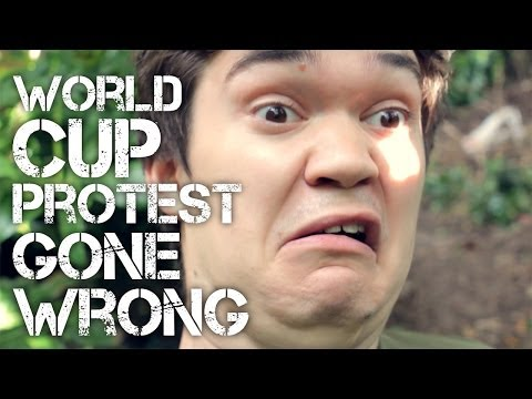 World Cup Protest Gone Wrong
