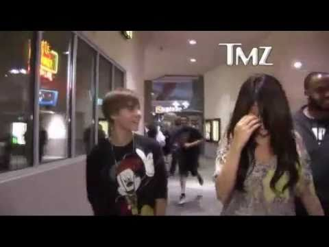 Justin Bieber &  Selena Gomez  KISS Movie Date