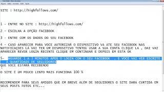 Como Ganhar Seguidores E Curtidas No Facebook 2013 HIGH