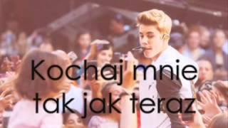 Justin Bieber- Love Me Like You Do Tłumaczenie PL