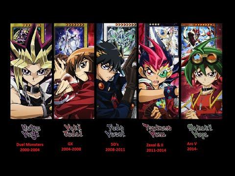 All 5 Yu-Gi-Oh Theme Songs