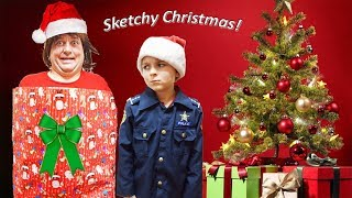 Sketchy Mechanic is Home for the Christmas Holiday funny kids video