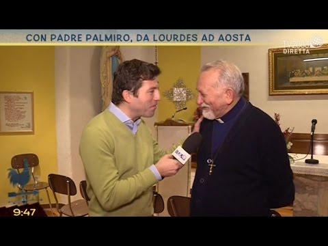 Padre Palmiro, voce del Rosario da Lourdes ad Aosta