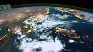 Terra Vista Do Espaço Sideral