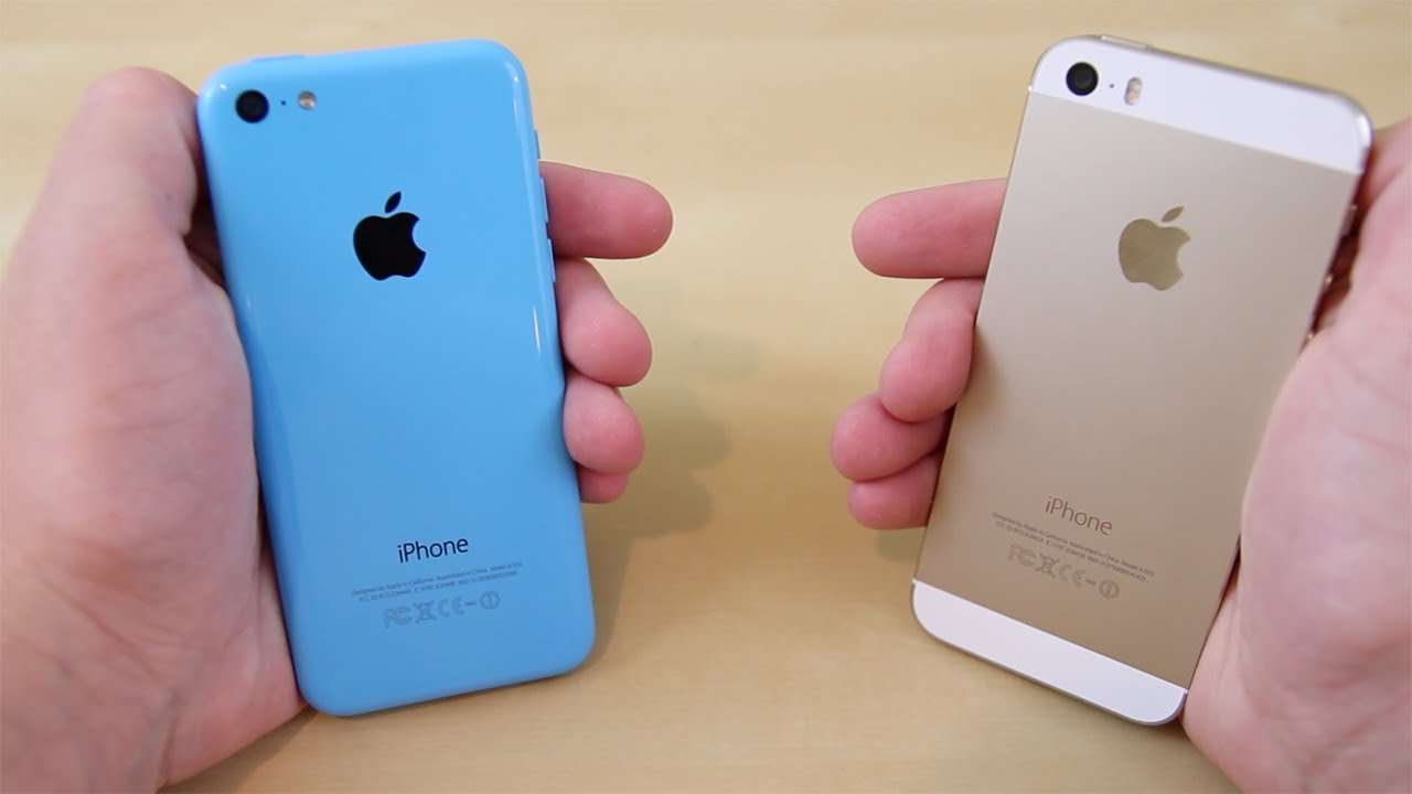 Iphone 5s vs iphone 5c full comparison youtube for Housse iphone 5 c