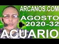 Video Horóscopo Semanal ACUARIO  del 2 al 8 Agosto 2020 (Semana 2020-32) (Lectura del Tarot)