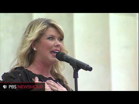 Singer Natalie Grant Performs at March on Washington 50th Anniversary