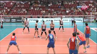 Korea - Serbia 2.06.2012 WOG, Japan