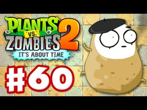 Plants vs. Zombies 2: It's About Time - Gameplay Walkthrough Part 60 - Imitater (iOS)