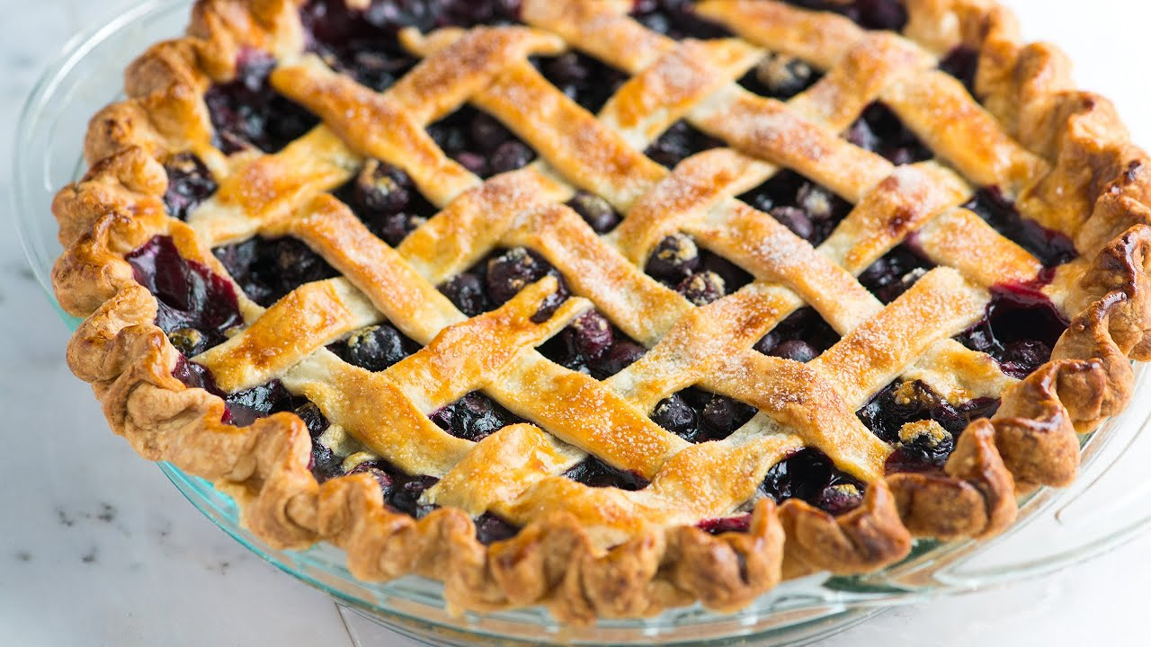 How to Make Homemade Blueberry Pie - Blueberry Pie Recipe - YouTube