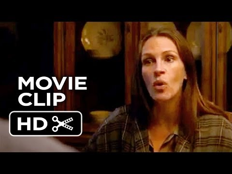 August Osage County Movie CLIP - Eat Your Fish (2013) - Julia Roberts Movie HD