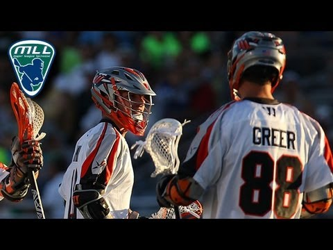 MLL Week 13 Highlights: Denver Outlaws vs New York Lizards