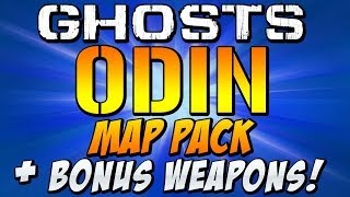 "COD Ghosts - ""ODIN"" Map Pack DLC - Bonus Weapons - ONSLAUGHT, DEVASTATION, INVASION, NEMESIS"