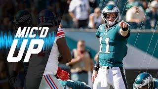 Carson Wentz Mic'd Up vs. Giants
