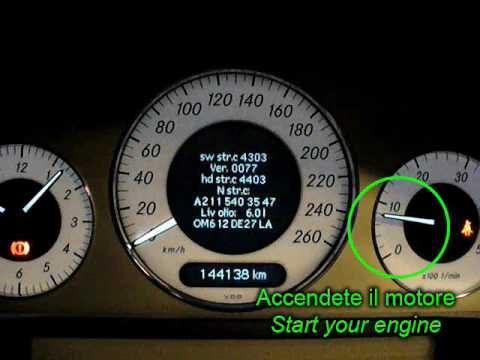 How To Measure Oil Level On W211 Amp S211 Mercedes Benz E