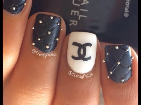 Chanel Nail Art Tutorial