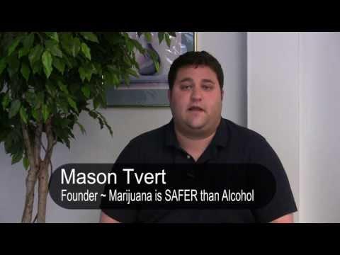 An Interview with Mason Tvert ~ Marijuana is SAFER than Alcohol
