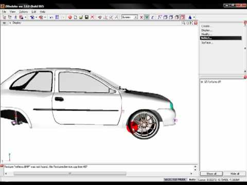 Tutorial: Como planchar autos para Gta San Andreas usando ZModeler
