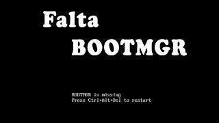 "Corrigindo Erro ""Falta BootMGR"" No Win7"