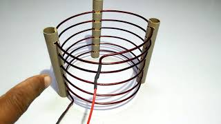 How to Make a Tesla coil High Power at Home Easy to Make With D1047 Transistor