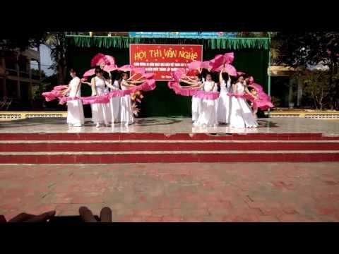 Múa quạt Quê tôi - 8A2 - THCS Sông Đà