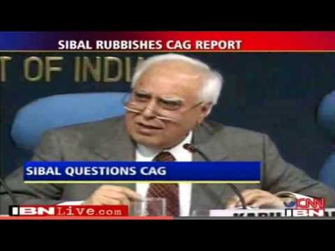 Kapil Sibal - Zero Loss in 2G