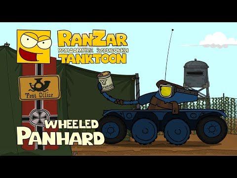 Tanktoon - Wheeled Panhard