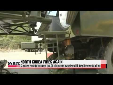 North Korea fires 2 missiles 20 kilometers from borderline