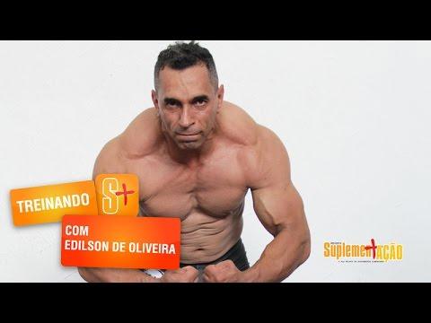 Treino de Ombros e Trapézio com Edilson de Oliveira