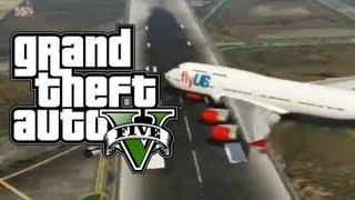 Grand Theft Auto V Fastest Way To Fly Planes! (GTA V
