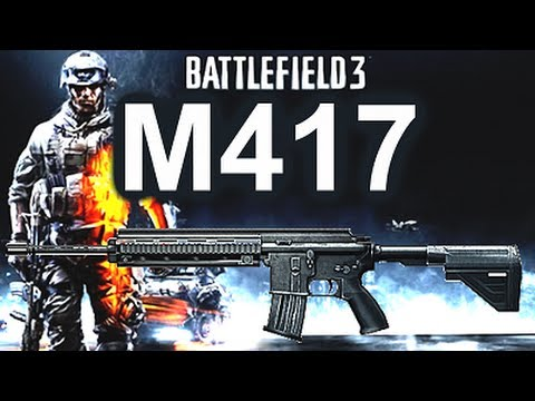 Battlefield 3 Online Gameplay - M417 Weapon Review on PC LIVE COM