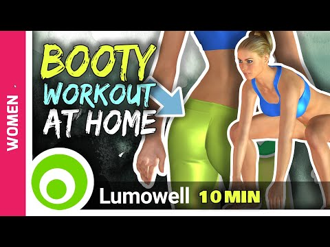 7 Best Exercises For A Bigger Butt | 8 Minute Perfect Butt Workout