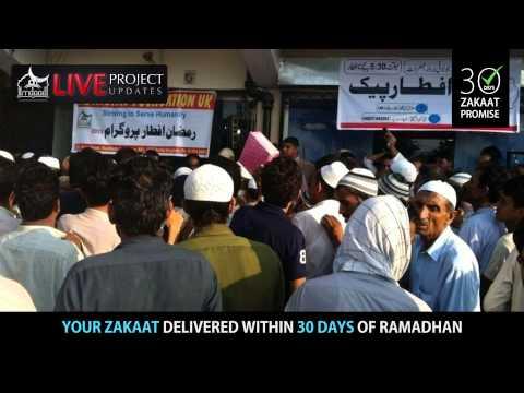 HD | LIVE Project Updates: Ramadhan 2013 Iftaar Campaign | Kashmir - Pakistan