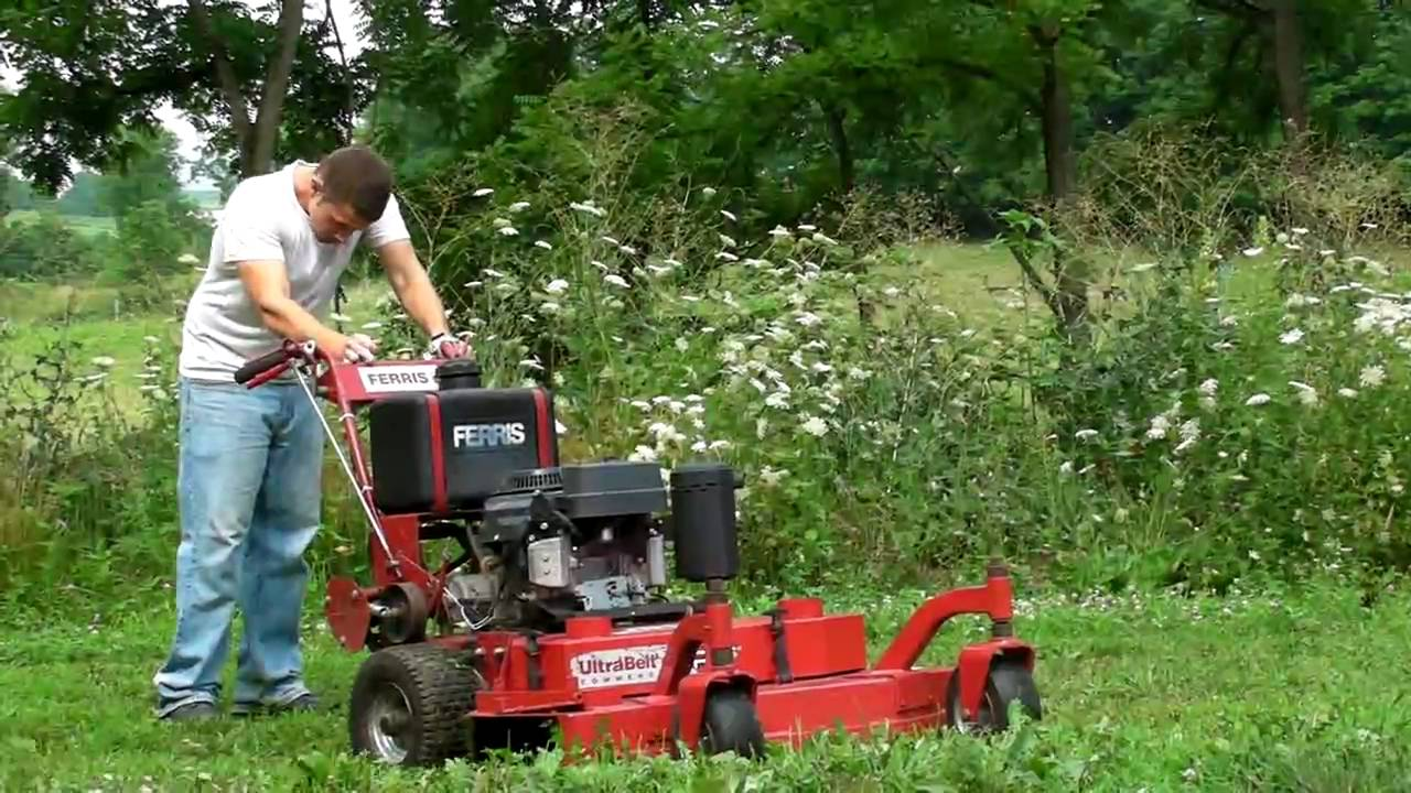 Ferris 36 Commercial Zero Turn Walkbehind Lawn Mower For