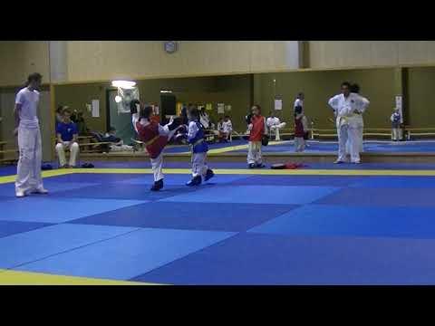 ITF Taekwondo - Club toernooi Lara vs Isra