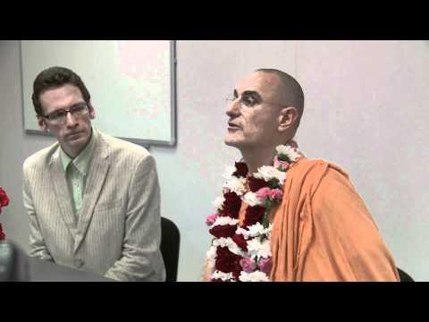 Nauka Otnoshenij (part 1) HH Bhakti Vidya Purna Swami - Riga, Latvia
