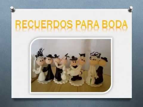 novios de ceramica en frio para bodas
