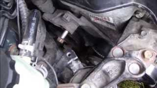 How To Replace Tensioner. Drive Belt Or Serpentine Belt