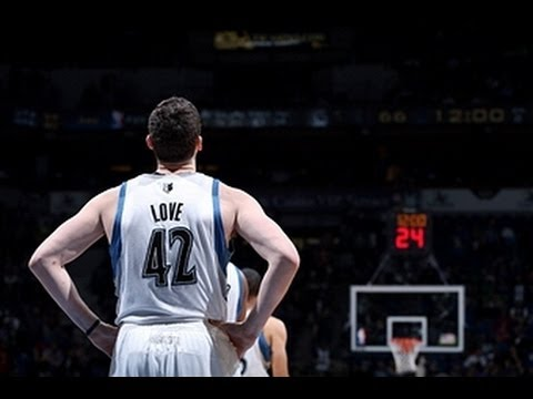 Kevin Love Leads the Timberwolves Over the Pistons