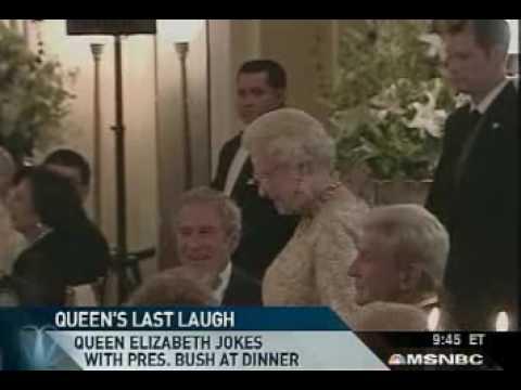 Queen Elizabeth craks a joke! - YouTube