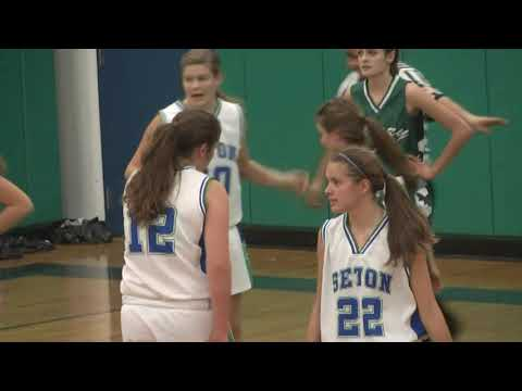 Chazy - Seton Catholic Girls 12-4-12
