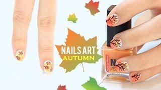 Diseños de uñas para el otoño