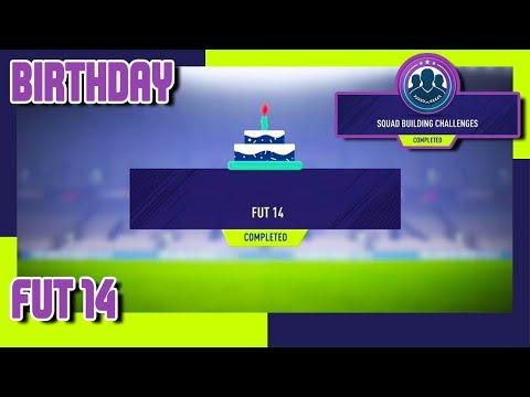 FIFA 18 - FUT Birthday SBC #6 - FUT 14 & Pack Opening