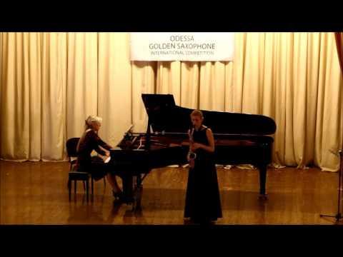 Golden Saxophone 2015 – Dariya Nikitenko – E Grieg Nocturne op 54NO 4