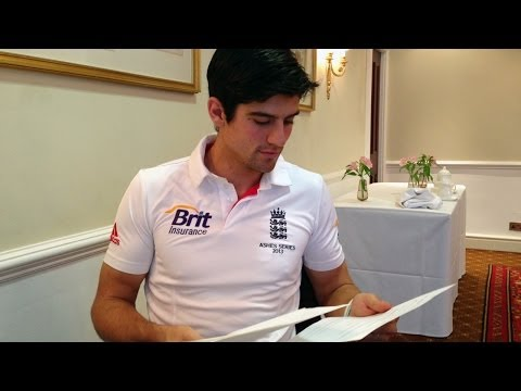 Alastair Cook answers more questions from the fans