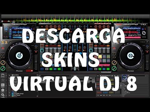 Mejores skins para VIRTUAL DJ PRO 7 (descargar e instalar)