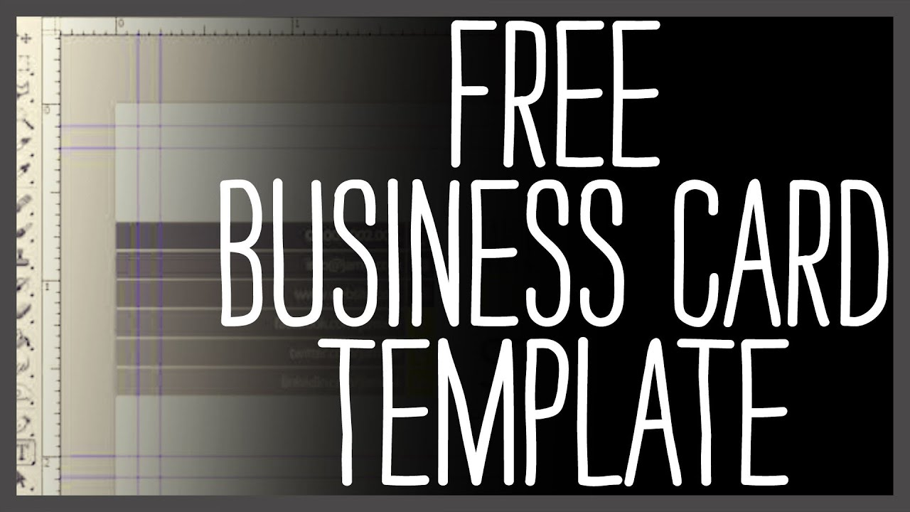 free business card template photoshop youtube. Black Bedroom Furniture Sets. Home Design Ideas