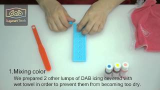 DAB How To Make A Colorful Instant Lace With DAB